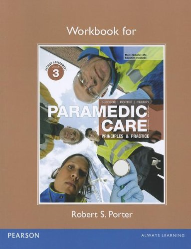 9780132111072: Workbook for Paramedic Care: Principles & Practice, Volume 3