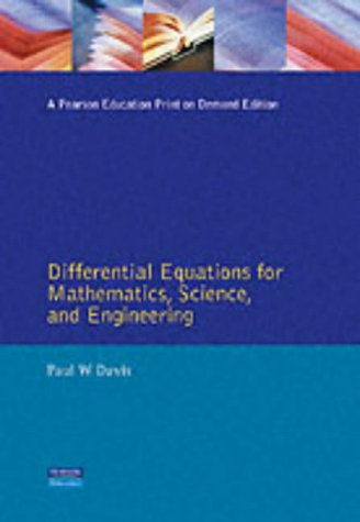 9780132112369: Differential Equations For Mathematics, Science And Engineering