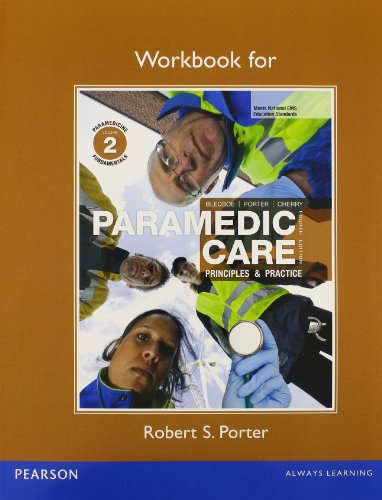 9780132112376: Workbook for Paramedic Care: Principles & Practice, Volume 2