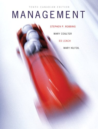 9780132112994: Management, Tenth Canadian Edition (10th Edition)
