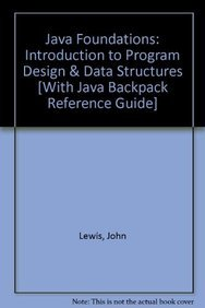 9780132114073: Addison-Wesley's Java Backpack Reference Guide with Java Foundations: Introduction to Program Design and Data Structures (2nd Edition)