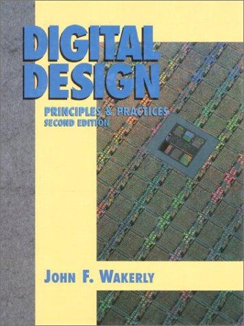 9780132114592: Digital Design: Principles and Practices