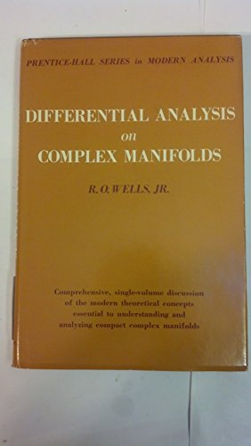 9780132115087: Differential Analysis on Complex Manifolds