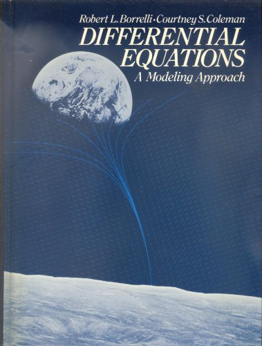 9780132115339: Differential Equations: A Modeling Approach