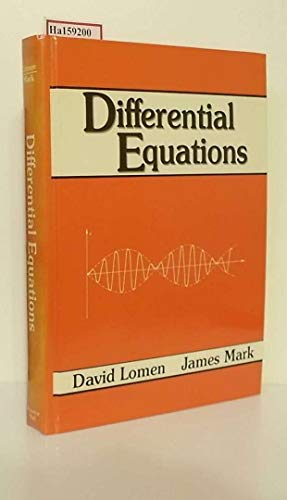 9780132115582: Differential Equations