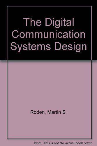 9780132116084: The Digital Communication Systems Design