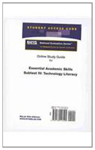 9780132118125: Access Code Card for the Online Tutorial for the National Evaluation Series Essential Academic Skills Subtest IV: Technology Literacy