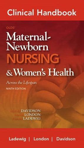 9780132118491: Clinical Handbook for Olds' Maternal-Newborn Nursing (Davidson, Clinical Handbook Olds' Maternal -Newborn Nursing)