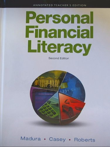 9780132119221: Annotated Teacher's Edition for Personal Financial Literacy (2nd Edition)