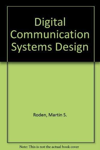 9780132119542: Digital Communication Systems Design