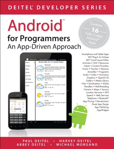 9780132121361: Android for Programmers: An App-Driven Approach (Deitel Developer)