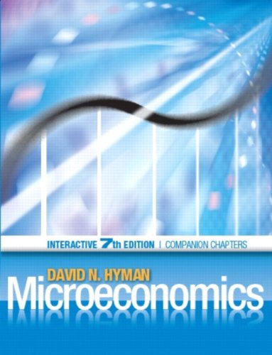Microeconomics : Interactive Edition, Economics: A dotlearn: David N. Hyman
