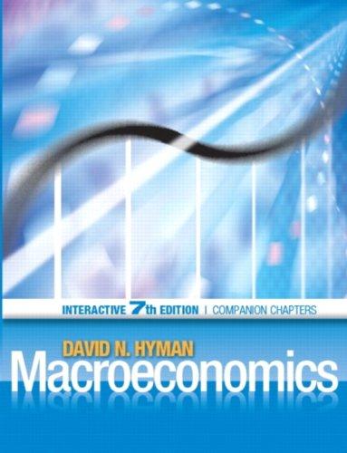Macroeconomics Interactive Edition, Economics: A dotlearn ebook: David N. Hyman