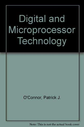 9780132125147: Digital and microprocessor technology