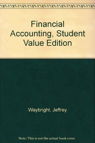 9780132126786: Financial Accounting, Student Value Edition