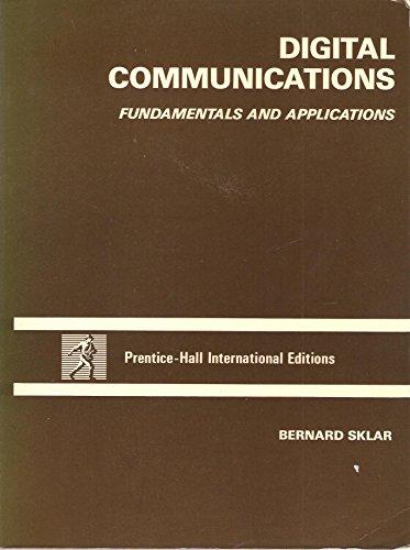 9780132127134: Digital Communications: Fundamentals and Applications