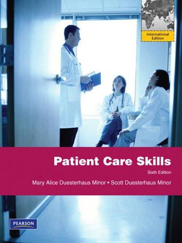 9780132127318: Patient Care Skills