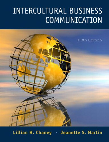 9780132127905: Intercultural Business Communication (5th Edition)