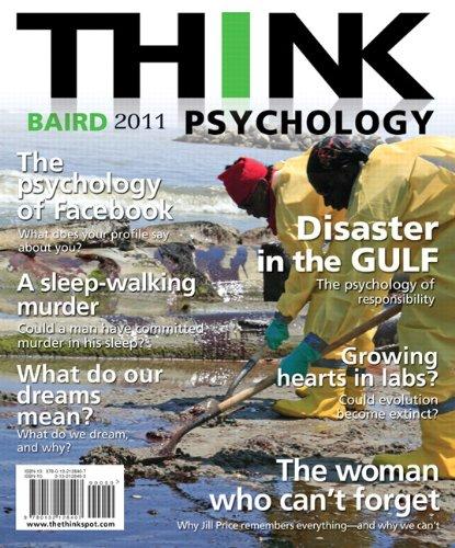 9780132128407: THINK Psychology