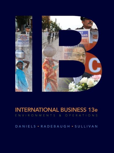9780132128421: International Business (13th Edition)