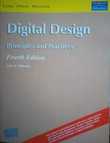 9780132128797: Digital Design Principles and Practice