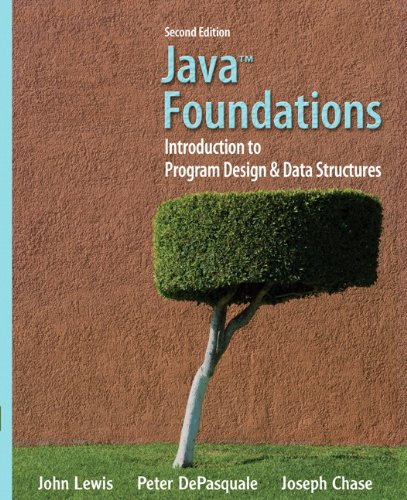 9780132128810: Java Foundations: Introduction to Program Design and Data Structures (2nd Edition) (Lewis)