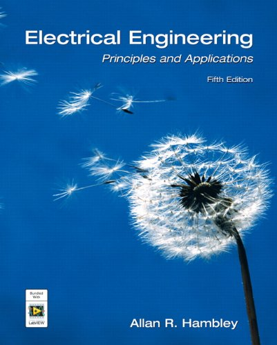 9780132130066: Electrical Engineering: Principles and Applications (5th Edition)