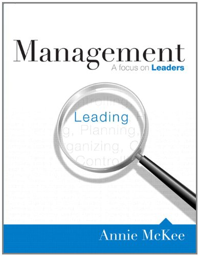 9780132130172: MyManagementLab with Pearson eText -- Access Card -- for Management: A Focus on Leaders