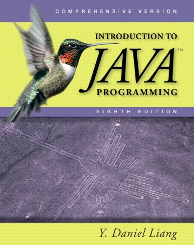 9780132130806: Introduction to Java Programming, Comprehensive (8th Edition)