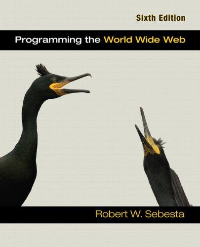 9780132130813: Programming the World Wide Web