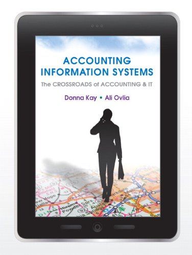 Accounting Information Systems: The Crossroads of Accounting: Ovlia, Ali, Kay,