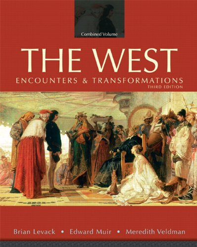The west encounters and transformations 3rd edition