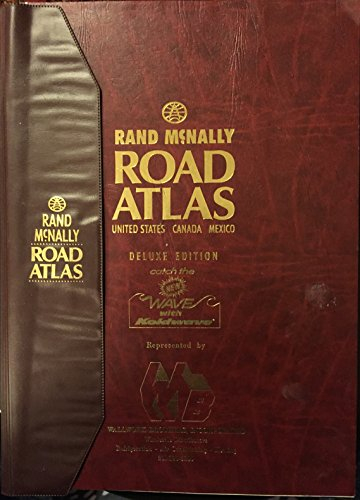 9780132133319: New deluxe 1992 road atlas--United States, Canada, Mexico