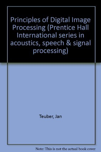 9780132133647: Digital Image Processing (Prentice Hall International Series in Acoustics, Speech and Signal Processing)