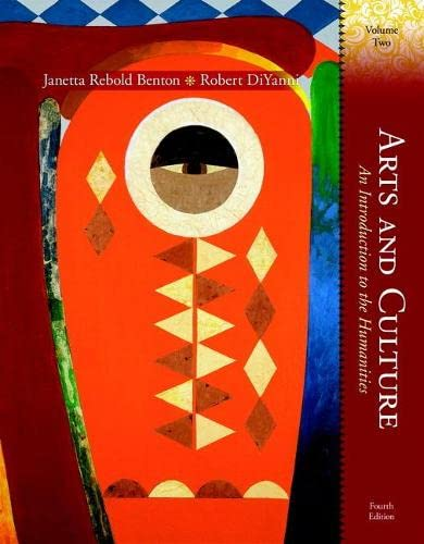 9780132134965: Arts and Culture: An Introduction to the Humanities, Volume II (4th Edition)