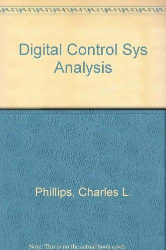 9780132135962: Digital Control System Analysis and Design