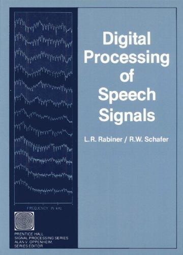 9780132136037: Digital Processing of Speech Signals