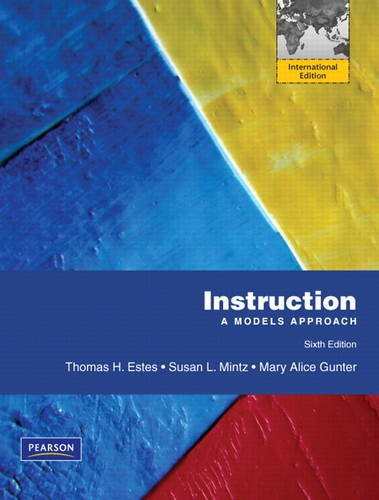 9780132136815: Instruction: A Models Approach
