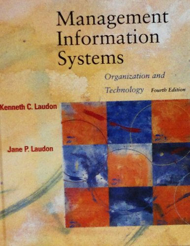 Management Information Systems: Kenneth Laudon, Jane