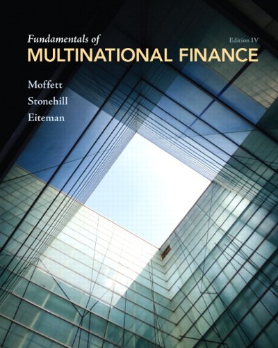 9780132138079: Fundamentals of Multinational Finance (4th Edition)