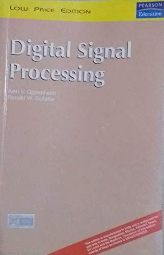 Digital Signal Processing: Alan V. Oppenheim