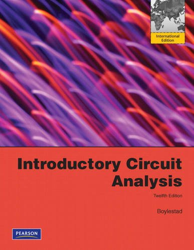 9780132142403: Introductory Circuit Analysis:International Edition