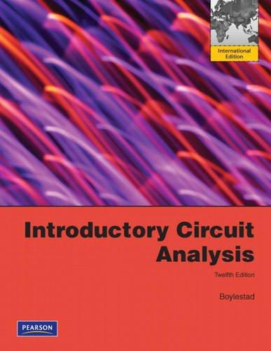 9780132142403: Introductory Circuit Analysis: International Edition