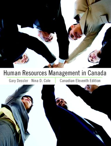 9780132142410: Human Resources Management in Canada, Canadian Eleventh Edition with MyHRLab (11th Edition)