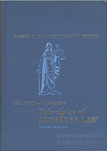 9780132143615: Principles of Business Law