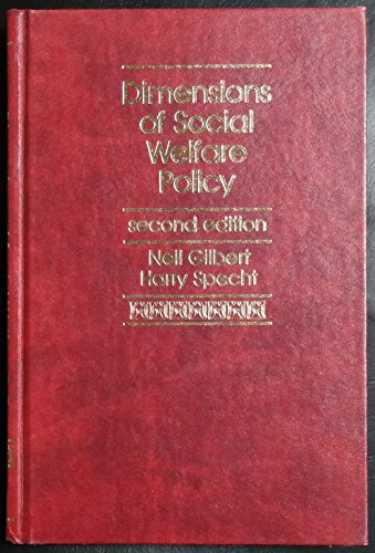 9780132144049: Dimensions of Social Welfare Policy