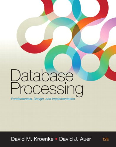 9780132145374: Database Processing (12th Edition)