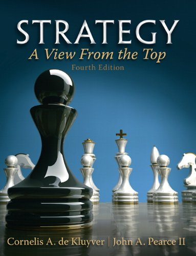 9780132145626: Strategy: A View From The Top (4th Edition)
