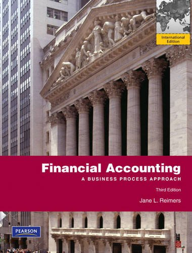9780132145732: Financial Accounting: A Business Process Approach
