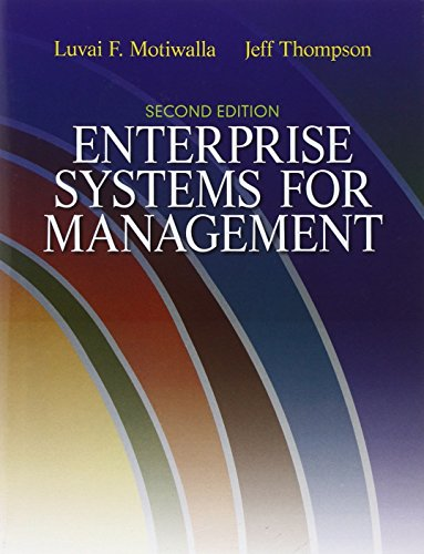 9780132145763: Enterprise Systems for Management (2nd Edition)